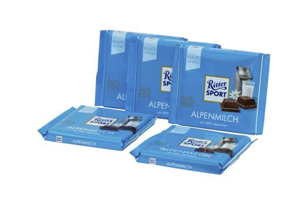 Ritter Sport Alpenmilch 1