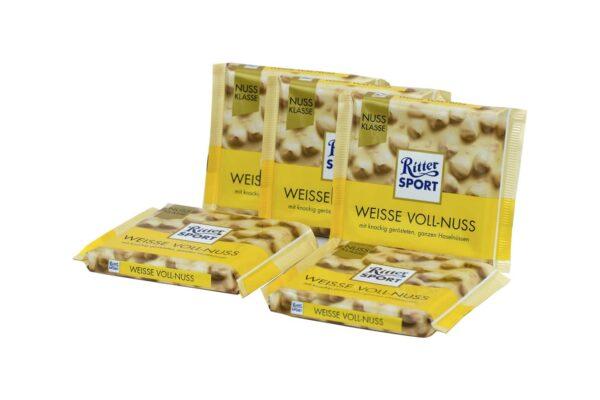 Ritter Sport Weisse Voll-Nuss 1